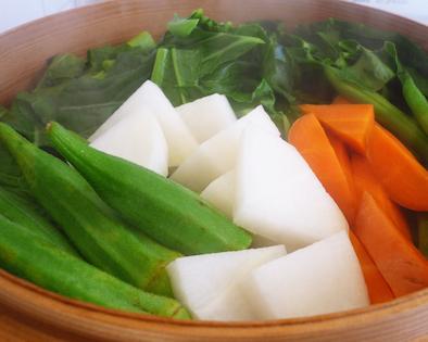 シンプルでおいしい蒸し野菜1602