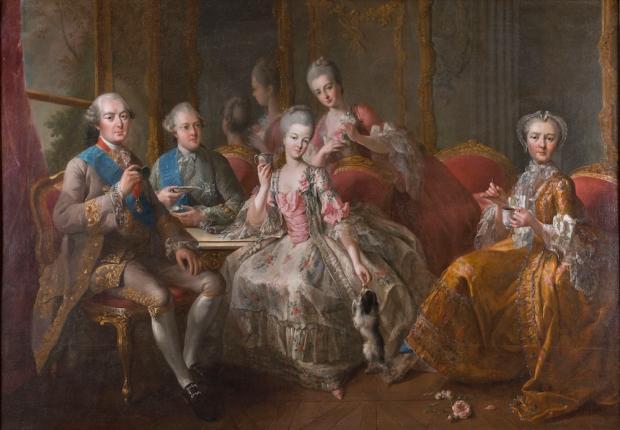 La Famille du duc de PenthiËvre en 1768 dit aussi La Tasse de Chocolat