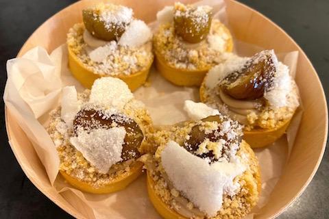 chestnuts Tart